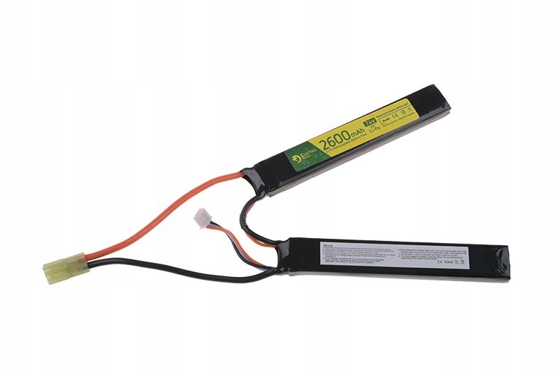 Airsoft -  ASG Elektro River Li-Po 7.4V 2600MAH Battery