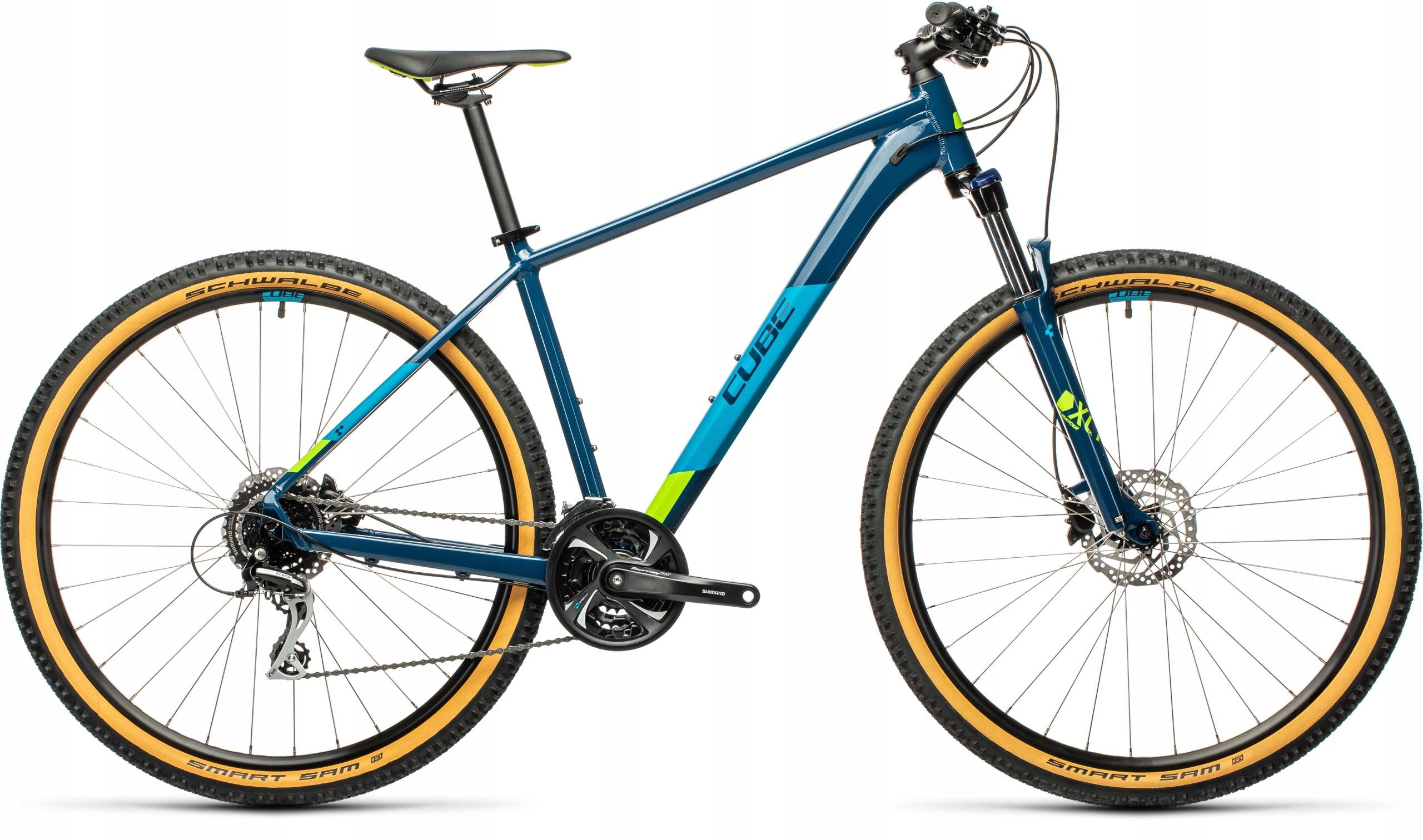 Horský bicykel - Bike Cube Aim Race 2021 27.5 16 S Blueberry !!!