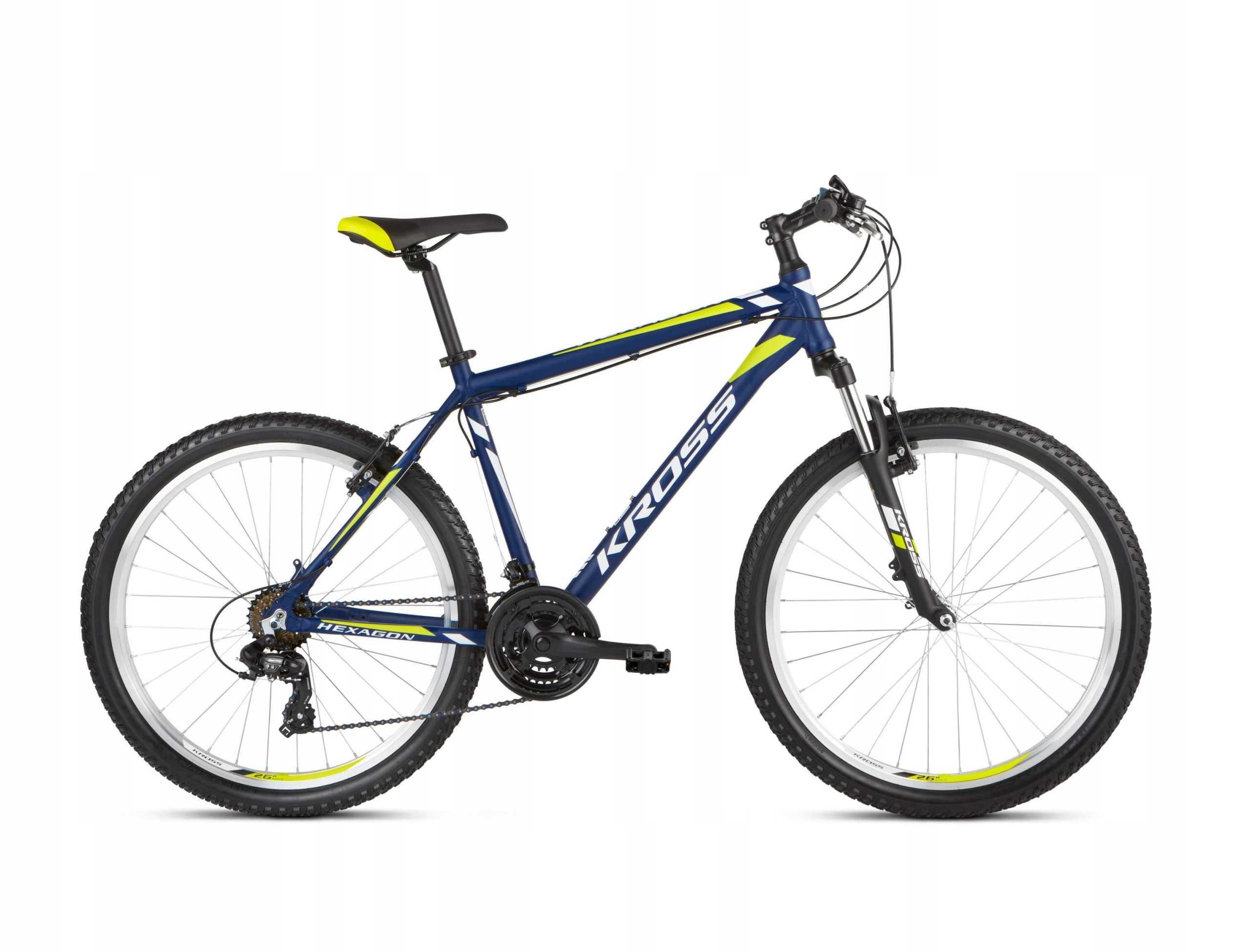 Horský bicykel - Mountain bike Kross Hexagon blue