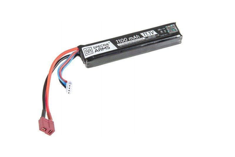 Airsoft -  SA - LiPO 11.1V 1100MAH 20C T-CON BATTERY