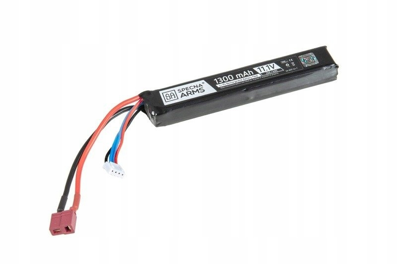 Airsoft -  SA - LiPO 11.1V 1300MAH 20C T-CONNECTU